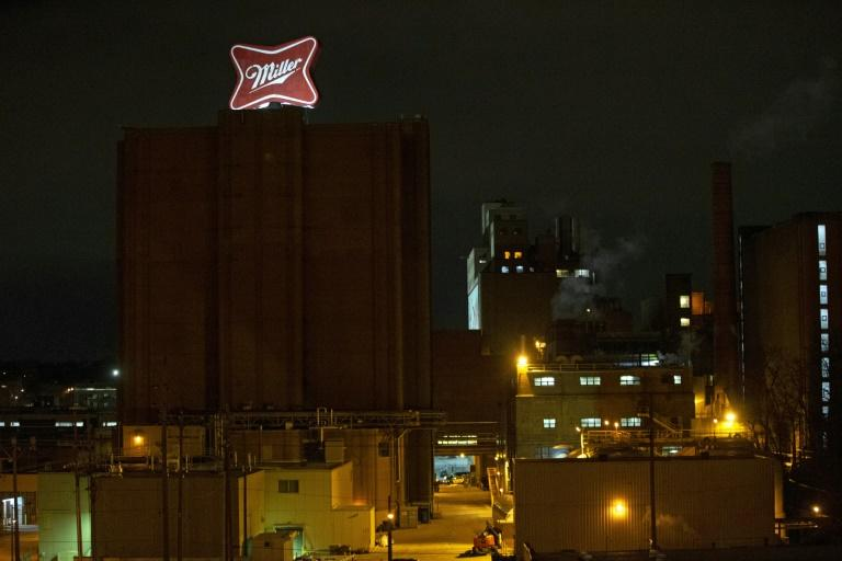 """The scene of the shooting in Milwaukee is known locally as the """"old Miller"""" brewing company, and has been around for 165 years, city officials said (AFP Photo/NUCCIO DINUZZO)"""