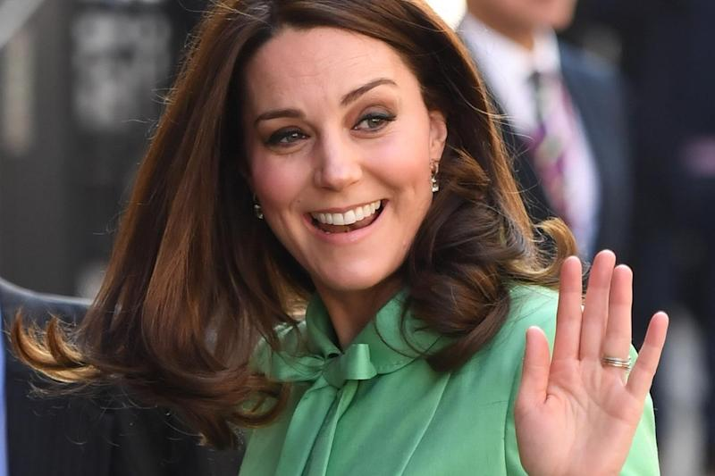 Duchess of Cambridge visits the Royal Society of Medicine: PA