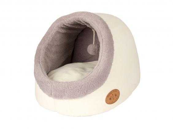 Easy to clean and lined with shearling, this will keep your cat cosy for all its naps (Wayfair)
