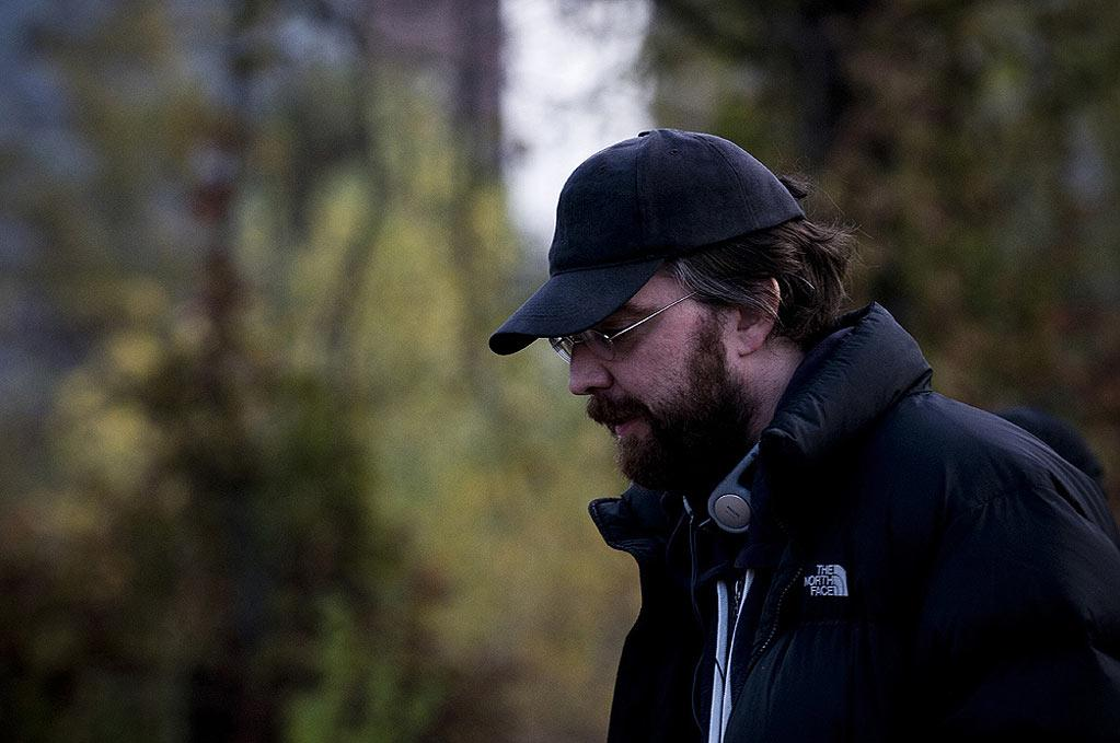 "Director Bradley Parker on the set of Warner Bros. Pictures' ""Chernobyl Diaries"" - 2012"
