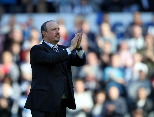 Rafa Benitez says Newcastle United's achievement fail to match the support of their loyal fans (AFP Photo/Scott Heppell)