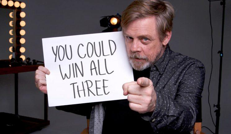 Mark Hamill supports Force for Change - Credit: Omaze