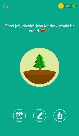Forest's personalized phrase feature