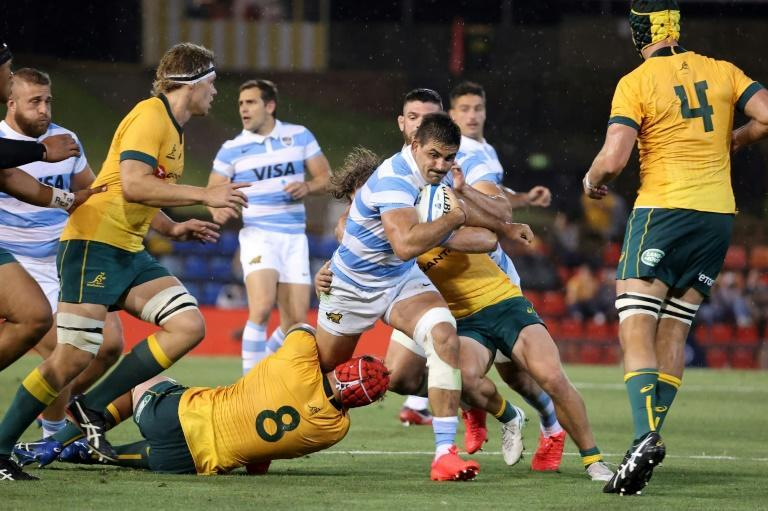Argentina clawed back to earn a 15-15 draw with Australia