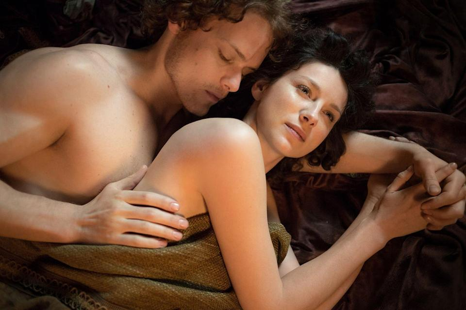 """<p>""""We're so used to seeing women being objectified, as objects of desire of men, but it's rare when you see a woman owning her sexuality, directing it, orchestrating the sequence of events,"""" Balfe told <a href=""""http://www.vulture.com/2016/04/best-sex-tv-outlander-c-v-r.html"""" rel=""""nofollow noopener"""" target=""""_blank"""" data-ylk=""""slk:Vulture."""" class=""""link rapid-noclick-resp""""><em>Vulture</em>.</a></p>"""