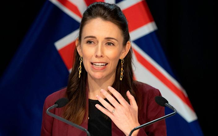 Best Air Fryer - New Zealand's Prime Minister Jacinda Ardern briefs the media about the COVID-19 coronavirus at the Parliament House in Wellington on April 27, 2020 - Life after lockdown: New Zealand on the verge of 'brilliant' victory after five weeks of restrictions - GETTY IMAGES