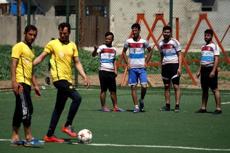 The Mosul Club was one of the best-known football clubs in the country, and was preparing to return to the Iraqi league when IS seized the northern city in 2014