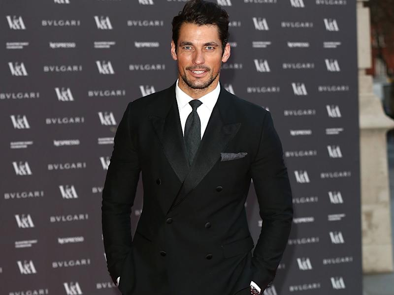 David Gandy: I'm proud of posing