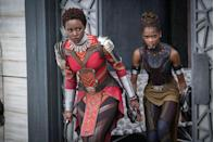 """<p><em>Black Panther </em>was the <a href=""""https://variety.com/2018/film/news/black-panther-third-highest-marvel-cinematic-universe-release-1202711773/"""" rel=""""nofollow noopener"""" target=""""_blank"""" data-ylk=""""slk:third-highest Marvel release ever"""" class=""""link rapid-noclick-resp"""">third-highest Marvel release ever</a>, and the number one movie of the year! Between the amazing action and strong female heroes, this movie will go down in history as one of the best ever. </p><p><a href=""""https://www.amazon.com/dp/B079NKRK66"""" rel=""""nofollow noopener"""" target=""""_blank"""" data-ylk=""""slk:WATCH BLACK PANTHER NOW"""" class=""""link rapid-noclick-resp"""">WATCH BLACK PANTHER NOW </a></p>"""
