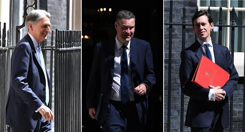Three cabinet ministers resigned ahead of Boris Johnson's coronation as PM (PA Images)