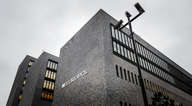 The EU police agency Europol headquarters in The Hague (AFP Photo/Remko de Waal)