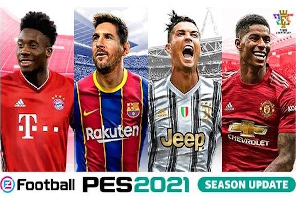 PES 2021 cover