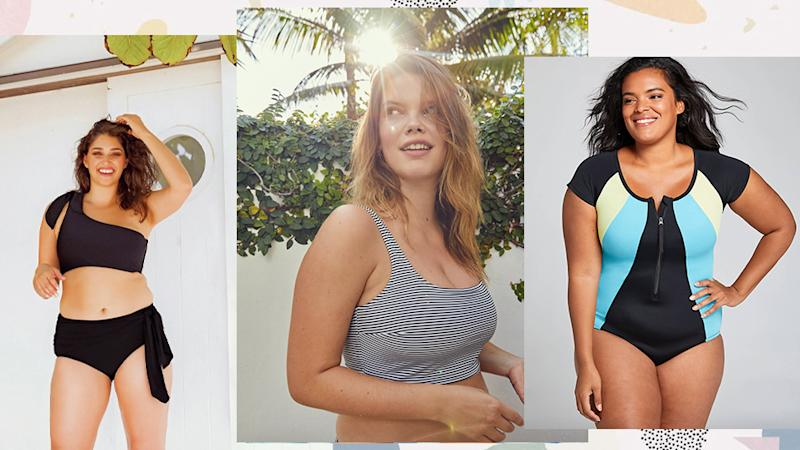 13 Swimsuits That Won't Make You Hate Having Big Boobs