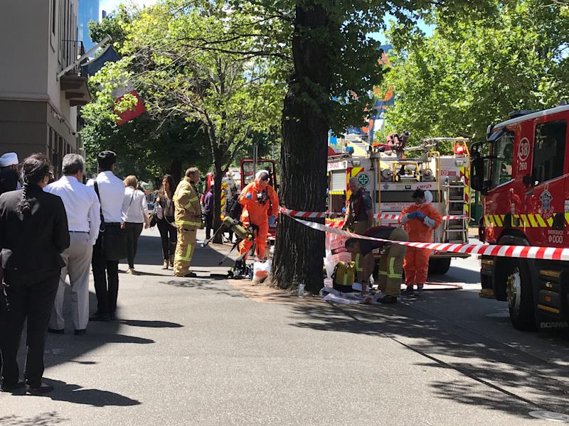 Police respond as 'suspicious package' sent to British consulate in Melbourne