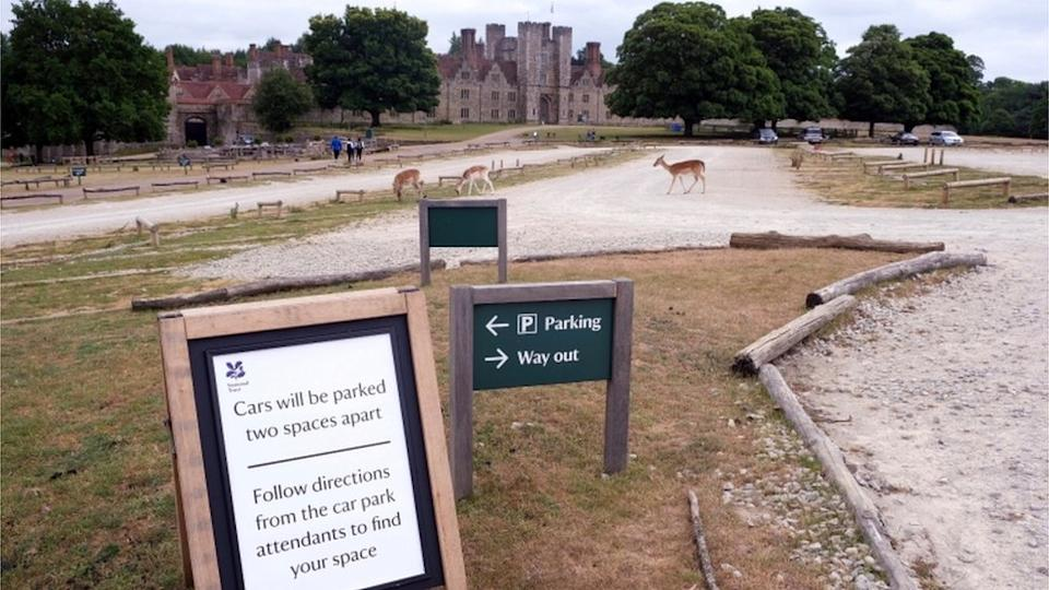 The National Trust is a charity that looks after places of historic interest and natural beauty