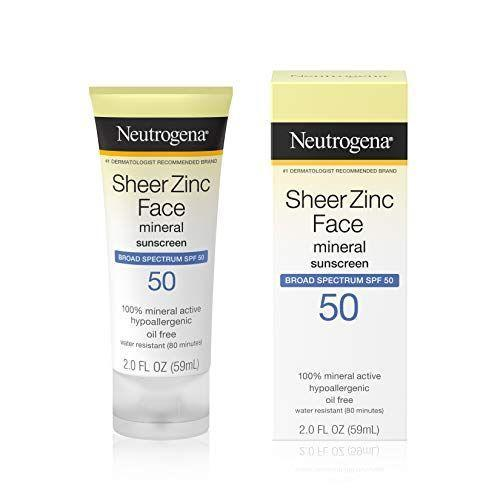 "<p><strong>Neutrogena</strong></p><p>amazon.com</p><p><strong>$10.97</strong></p><p><a href=""https://www.amazon.com/dp/B01MDOA0V4?tag=syn-yahoo-20&ascsubtag=%5Bartid%7C10055.g.256%5Bsrc%7Cyahoo-us"" rel=""nofollow noopener"" target=""_blank"" data-ylk=""slk:Shop Now"" class=""link rapid-noclick-resp"">Shop Now</a></p><p>Our Beauty Lab tested this zinc oxide face sunscreen with real consumers, who found it easy to apply and effective at preventing sunburn. It's a great value and the<strong> silky smooth formula means</strong> <strong>you can wear it under your foundation </strong>— testers found it didn't interfere with their makeup application. Like many mineral sunscreens, it might leave a bit of a white cast at first while it soaks in so it may be better-suited for fairer skin tones. </p>"