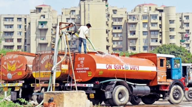 The latest investigation found out how touts, middlemen and drivers of DJB water tankers are skimming off the supplies originally destined for slums and unauthorised neighbourhoods with no piped connections. On the sprawling compound of the DJB executive engineer's office in an Okhla neighbourhood, one Surendra sat comfortably on a motorbike parked under a tree. He was no local resident visiting the facility over a problem.