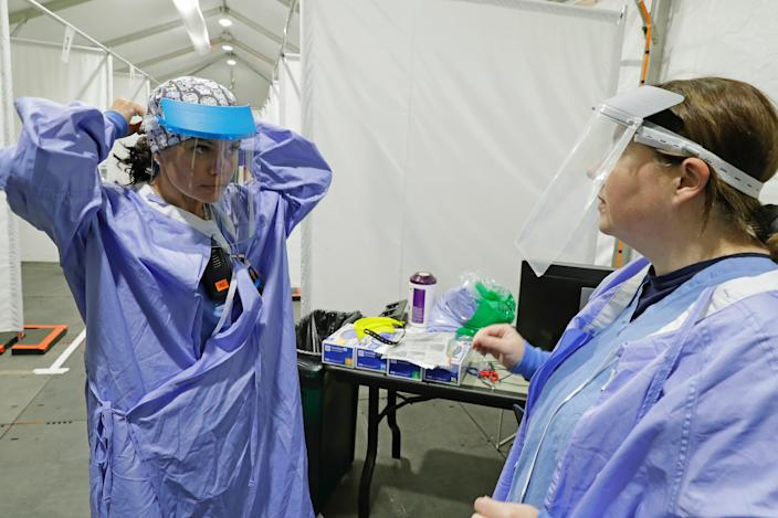 Face shield medical workers
