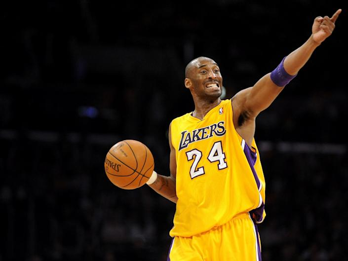 Kobe Bryant is considered one of the best players in NBA history: EPA