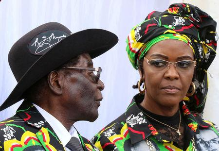 South African rights group denounces Grace Mugabe immunity plans