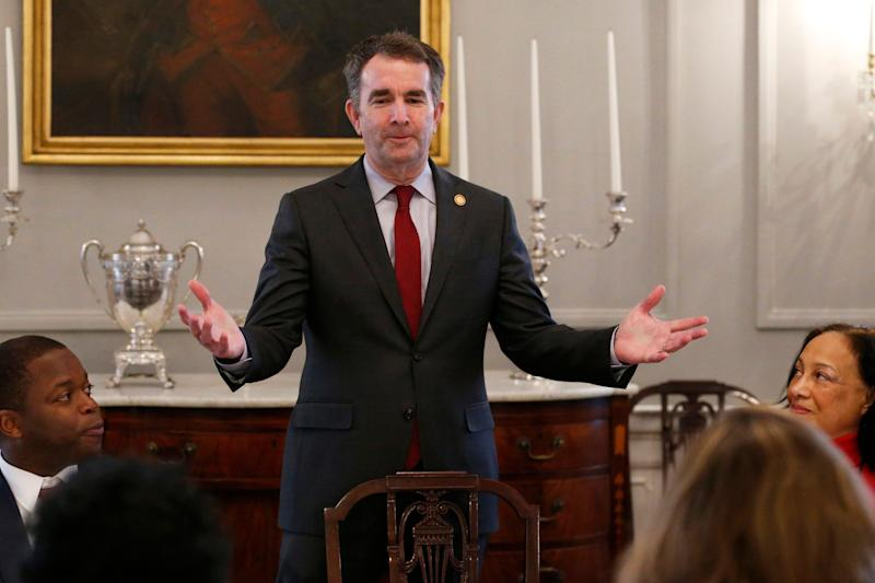 Virginia Gov. Ralph Northam has faced calls to resign after the photo was discovered on his medical school's yearbook page. (Photo: ASSOCIATED PRESS)