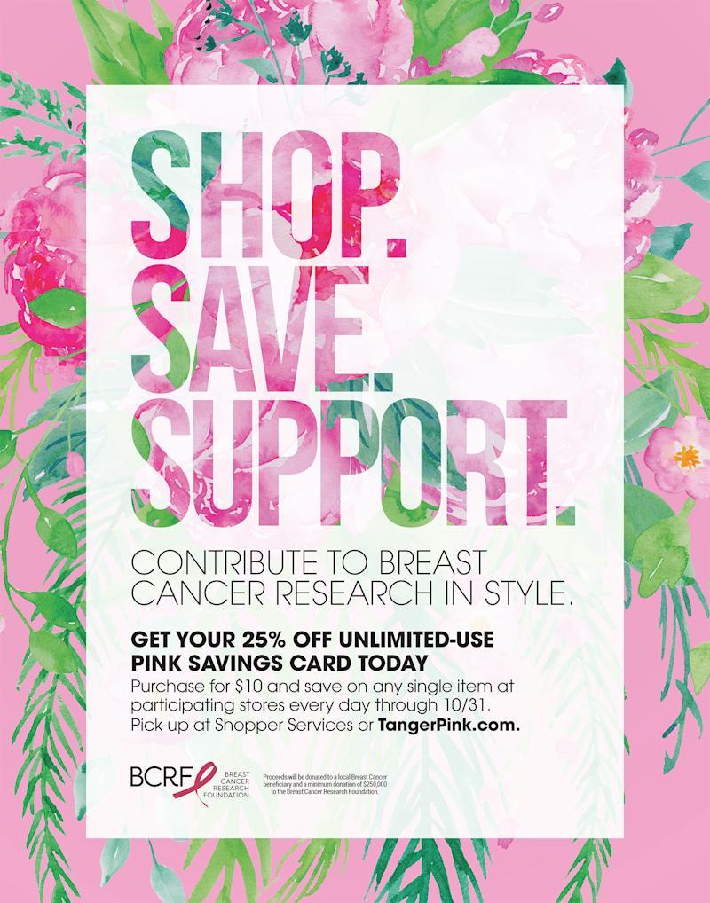 Contribute to breast cancer research in style