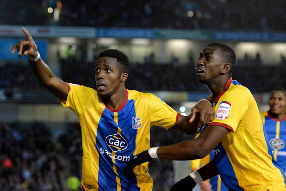 <p>Zaha and Bolasie in action for Palace</p> (Getty Images)