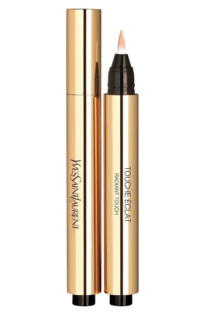 "<p><strong>Yves Saint Laurent</strong></p><p>sephora.com</p><p><a href=""https://go.redirectingat.com?id=74968X1596630&url=https%3A%2F%2Fwww.sephora.com%2Fproduct%2Ftouche-eclat-radiance-perfecting-pen-P218431&sref=https%3A%2F%2Fwww.townandcountrymag.com%2Fstyle%2Fbeauty-products%2Fg36096291%2Fsephora-vib-sale-spring-2021%2F"" rel=""nofollow noopener"" target=""_blank"" data-ylk=""slk:Shop Now"" class=""link rapid-noclick-resp"">Shop Now</a></p><p>$32.22</p><p><em>Original Price: $38</em></p>"