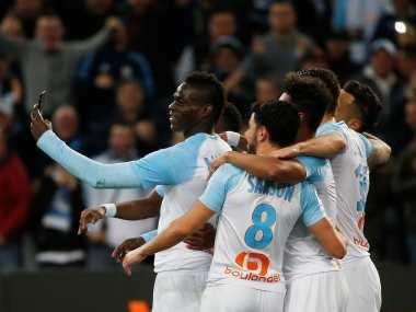 Ligue 1: Mario Balotelli posts celebration video on social media during Marseille's win over Saint-Etienne; Lyon thrash Toulouse
