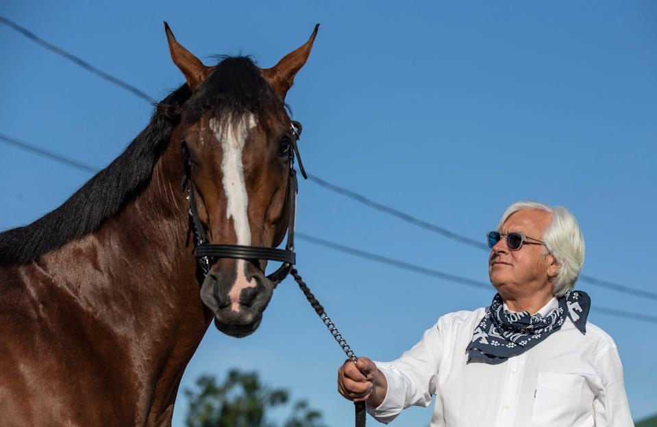 Trainer Bob Baffert has won the Kentucky Derby six times.