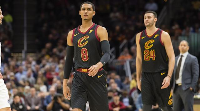 "<p>There is something about playing point guard for the Cavaliers that makes people <a href=""https://www.si.com/nba/2017/12/15/kyrie-irving-4-sneaker-all-seeing-eye-you-gotta-be-kidding-me"" rel=""nofollow noopener"" target=""_blank"" data-ylk=""slk:more comfortable sharing"" class=""link rapid-noclick-resp"">more comfortable sharing</a> <a href=""https://www.si.com/nba/2017/11/01/kyrie-irving-celtics-flat-earth-theory"" rel=""nofollow noopener"" target=""_blank"" data-ylk=""slk:absurd scientific theories"" class=""link rapid-noclick-resp"">absurd scientific theories</a>.</p><p>Jordan Clarkson is not here to <a href=""https://www.si.com/nba/2018/01/12/kyrie-irving-celtics-flat-earth-instagram"" rel=""nofollow noopener"" target=""_blank"" data-ylk=""slk:say the Earth is flat"" class=""link rapid-noclick-resp"">say the Earth is flat</a> (yet), but he does have an idea about how early humans interacted with dinosaurs and some questions about the moon landing.</p><p>On the <a href=""https://twitter.com/RoadTrippinPod/status/975651306806415361"" rel=""nofollow noopener"" target=""_blank"" data-ylk=""slk:latest episode of the ""Road Trippin'"" podcast"" class=""link rapid-noclick-resp"">latest episode of the ""Road Trippin'"" podcast</a>, Clarkson appeared with teammate Larry Nance Jr. and explained his thoughts on prehistoric creatures and the Apollo 11 lunar mission. It all gets started around the 40-minute mark if you want to hear it all for yourself.</p><p>""This is gonna get a little crazy, alright, I'm gonna take y'all a little left on this one,"" Clarkson started to explain. ""Y'all know how we have dogs and stuff right? So I think it was bigger people in the world before us, and the dinosaurs was they pets.""</p><p>When asked by co-host DJ Montage about the size of these people, Clarkson responded ""Oh, you look at a dinosaur. They got to be three times bigger than them.""</p><p>So not only were dinosaurs domesticated in some sense of the word according to Clarkson, but there were also giant people in charge of making that happen.</p><p>Of course.</p><p>The same way some people today have a pitbull, some people before used to have a Tyrannosaurs Rex.</p><p>• <strong><a href=""https://www.si.com/nba/2018/03/19/holdat-podcast-matt-barnes-nba-pranks-nate-robinson-knicks-hazing"" rel=""nofollow noopener"" target=""_blank"" data-ylk=""slk:HOLDAT Podcast: Why You Should Never Prank Matt Barnes"" class=""link rapid-noclick-resp"">HOLDAT Podcast: Why You Should Never Prank Matt Barnes</a></strong></p><p>But Clarkson wasn't finished there. After DJ Montage was pressed by Nance and co-host Allie Clifton about not believing in dinosaurs?, Clifton asked Nance and Clarkson if there was anything they don't believe in.</p><p>""I don't believe when they went to the moon,"" Clarkson started.</p><p>""You think it was a conspiracy?"" Nance questioned.</p><p>""I think they was in a studio in Hollywood and recorded that,"" Clarkson explained. ""Straight up. I'm just being dead honest.""</p><p>Clarkson added that the flag waving in space despite there being no wind in space was part of the basis of his conclusion that Neil Armstrong and Buzz Aldrin lied to us all.</p><p>""They gonna make the wind?"" Clarkson asked. ""They just needed something to believe in back then.""</p><p>Clarkson also said he believes there are other beings on other planets, similar to people on Earth, and they are searching the universe for more life as well.</p><p>• <strong><a href=""https://www.si.com/nba/2018/03/19/tyronn-lue-health-leave-cleveland-cavaliers-larry-drew-lebron-james"" rel=""nofollow noopener"" target=""_blank"" data-ylk=""slk:When Tyronn Lue Returns, the Resilient Cavs Will Be Waiting"" class=""link rapid-noclick-resp"">When Tyronn Lue Returns, the Resilient Cavs Will Be Waiting</a></strong></p><p>But to top it all off, Clarkson said he is not willing to discount the idea of mermaids because ""there's so much stuff in the sea that we ain't never seen before.""</p><p>""Bruh, we don't even know if dinosaurs is real—they probably down there just chilling,"" Clarkson started. ""I'm saying, if some of them could be down just all the way in the bottom just chilling. And asleep or something. And waiting for the time to come out.""</p><p>Nance did his best to fight Clarkson on his theories, mentioning the space shuttle as the possible cause for the flag waving and bringing up that sharks are also technically dinosaurs. However, it doesn't seem like he was changing Clarkson's mind in the slightest.</p><p>In case you were wondering, Clarkson said he majored in general studies while he was in college.</p>"