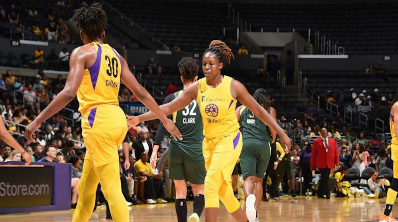 Seattle Storm Eliminated From WNBA Playoffs by LA Sparks, 92-69