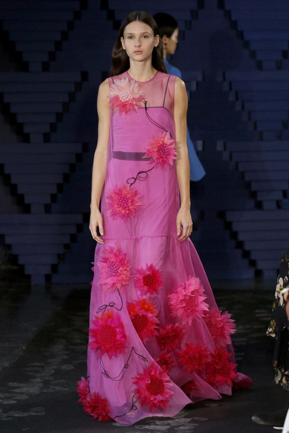 <p>Fuchsia florals, perfect for spring. </p>