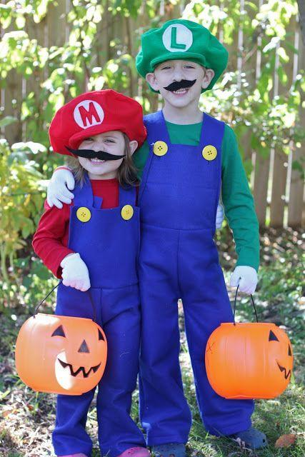 """<p>It's hard to think of a more famous duo than Mario and Luigi. So that definitely says a lot if you and your friend dress up as them!</p><p><strong>Get the tutorial at <a href=""""http://smashedpeasandcarrots.com/how-to-make-mario-and-luigi-costumes-tutorial/"""" rel=""""nofollow noopener"""" target=""""_blank"""" data-ylk=""""slk:Smashed Peas and Carrots"""" class=""""link rapid-noclick-resp"""">Smashed Peas and Carrots</a>.</strong></p><p><strong><a class=""""link rapid-noclick-resp"""" href=""""https://www.amazon.com/Acrylic-Felt-Fabric-ROYAL-BLUE/dp/B014QD02YK/?tag=syn-yahoo-20&ascsubtag=%5Bartid%7C10050.g.21349110%5Bsrc%7Cyahoo-us"""" rel=""""nofollow noopener"""" target=""""_blank"""" data-ylk=""""slk:SHOP FELT"""">SHOP FELT</a><br></strong></p>"""