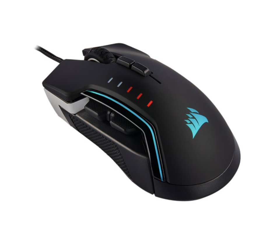 Corsair Glaive RGB Pro 18000 DPI Optical Gaming Mouse (Photo via Best Buy Canada)