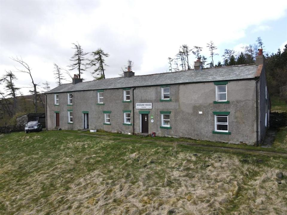 It might not look flashy, but the historic Skiddaw House has plenty of potential (Image: Rightmove)