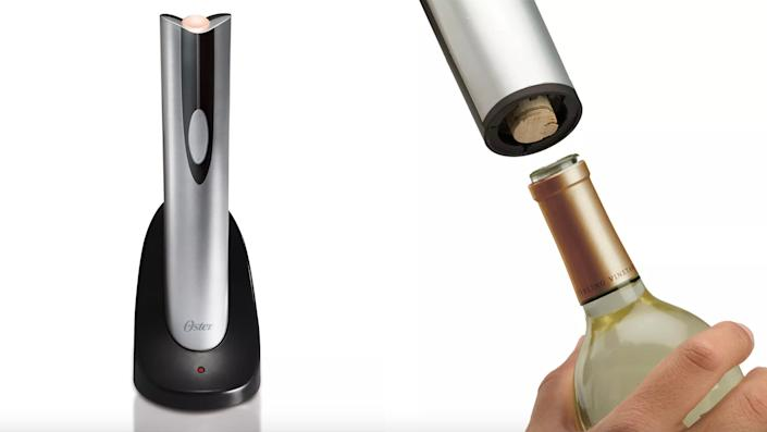 Best affordable gifts that look expensive: Oster Cordless Electric Wine Bottle Opener