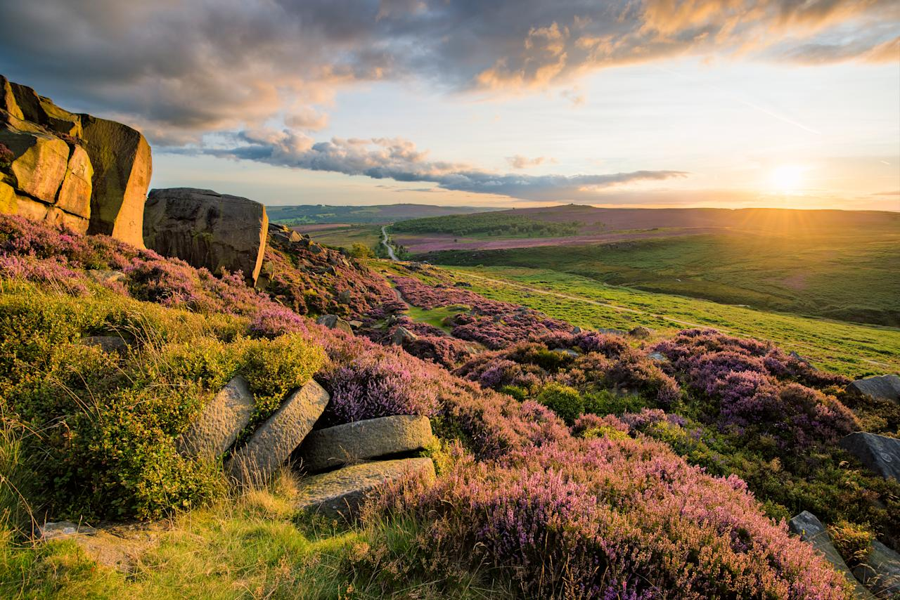 """Surrounded by the rolling dales of Derbyshire, <a href=""""http://www.calwichundercanvas.co.uk/"""">Calwich under Canvas</a> is a private site that's perfect for a relaxing family break. The quiet, idyllic spot is ideal if you want to get back to nature without sacrificing too much luxury. Inside, you'll find tasteful furnishings and feather down duvet and pillows. Outside, you'll have your own decking area with outdoor seating, and there's also a hot tub and sauna, plus washrooms with hot showers and flushing loos. From £165 per night. <em>[Photo: Getty]</em>"""