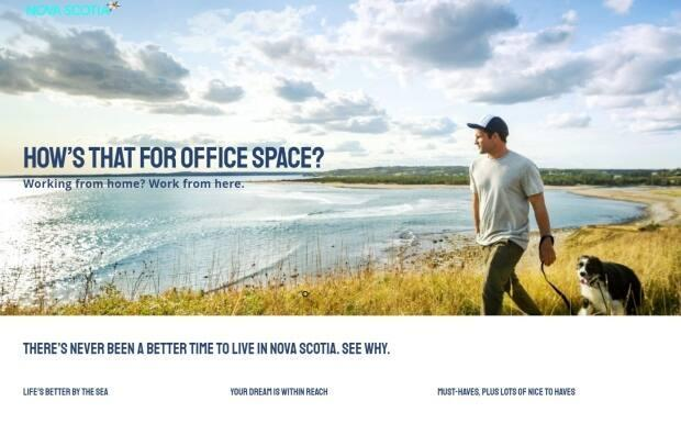 Nova Scotia Business Inc. launched a marketing campaign last December aimed at attracting remote workers from bigger Canadian cities to move to the province.