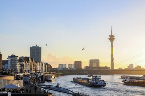 Dusseldorf: full of fashion - Credit: getty