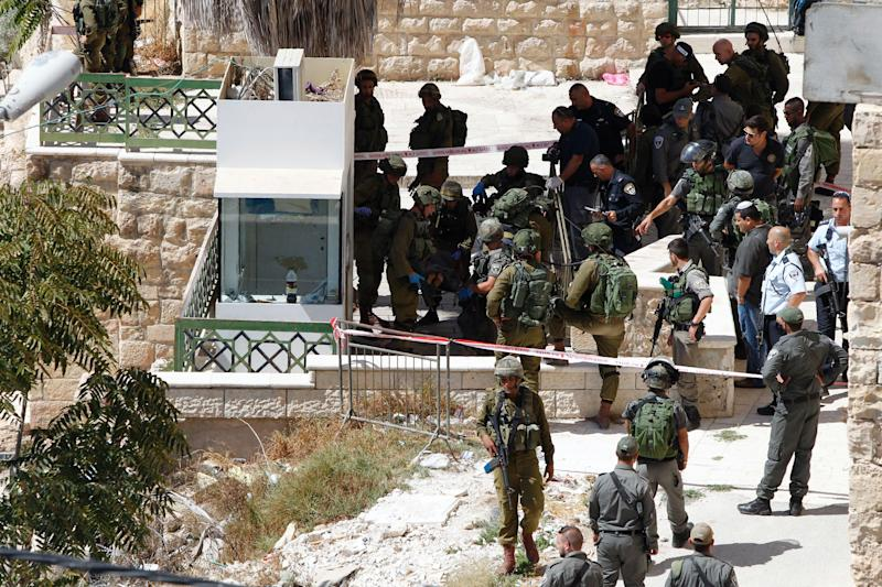 Israel military: Palestinian killed after a stabbing soldier