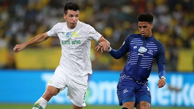 The retired Masandawana midfielder has backed the current squad to go all the way but he's pleased with the contribution of the lanky striker