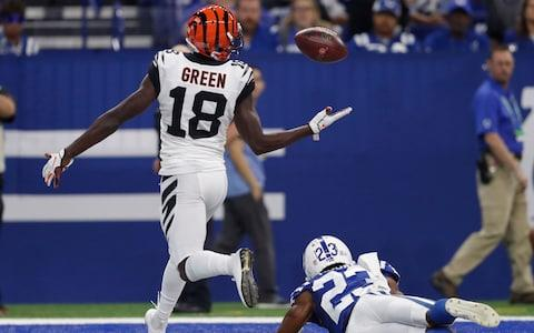 <span>Cincinnati Bengals wide receiver A.J. Green</span> <span>Credit: AP </span>