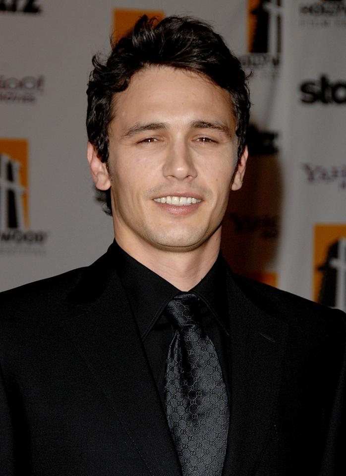 """<a href=""""http://movies.yahoo.com/movie/contributor/1800352352"""">James Franco</a> at the 12th Annual Hollywood Film Festival Awards Gala in Beverly Hills - 10/27/2008"""