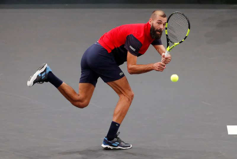 Paire says he played in Hamburg despite testing positive for COVID-19
