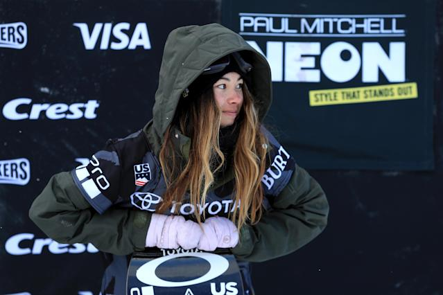 <p>She has a superstition about socks and tries to wear the same days on competition days as she does on her bast practice days. (Getty) </p>