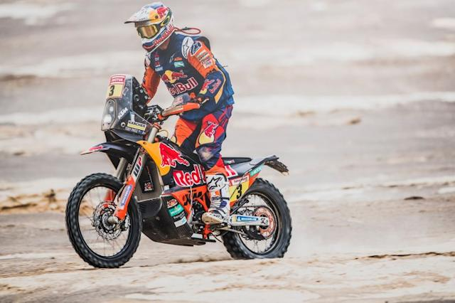 """#3 Red Bull KTM Factory Racing KTM: Toby Price <span class=""""copyright"""">Red Bull Content Pool</span>"""