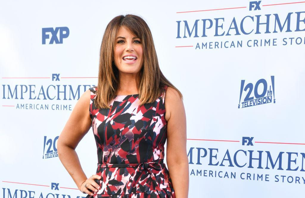 Monica Lewinsky attends the premiere of FX's