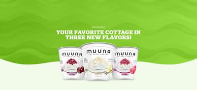 Muuna introduces Black Cherry, Vanilla & Raspberry cottage cheese