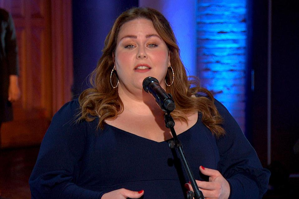 <p>Chrissy Metz sang during the 40th Anniversary of <em>A Capitol Fourth</em> concert.</p>